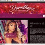 Account Premium Dorothyxx.modelcentro.com