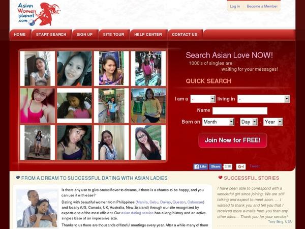 Asian Women Planet Members Area