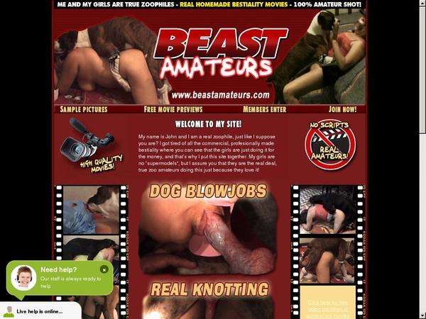 Beastamateurs.com Full Discount
