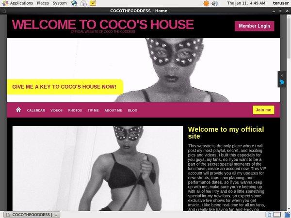 Coco's House Get Password