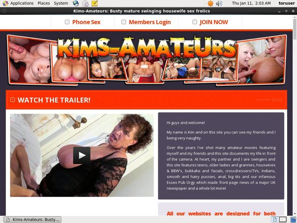 Free Users For Kims-amateurs.com