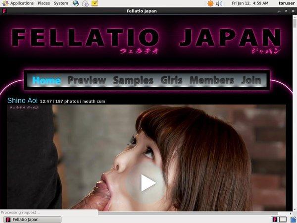How To Get Fellatio Japan Account