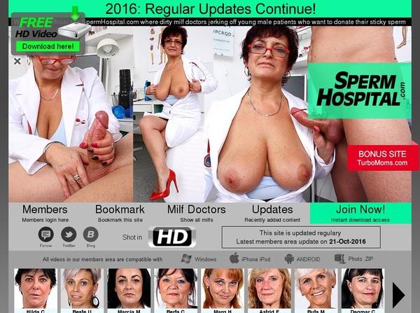 Free Accounts For Spermhospital.com