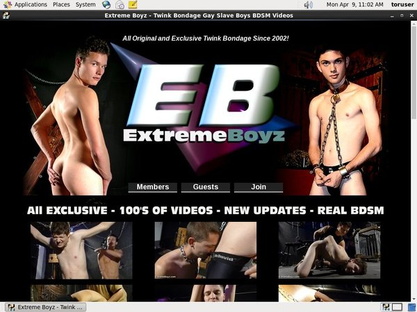 Get A Free Extremeboyz Account