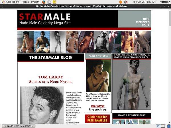 Free Starmale Account Password