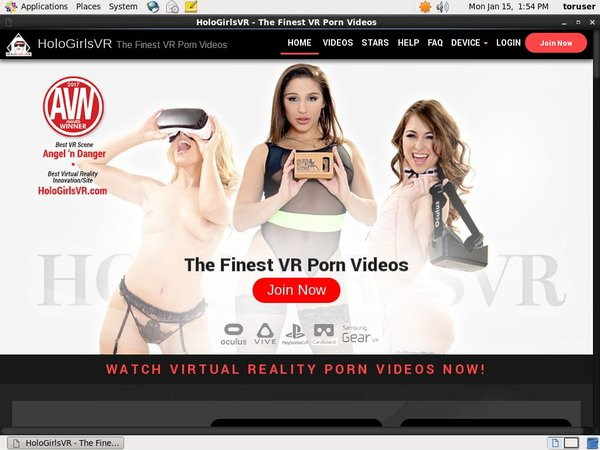 Hologirlsvr.com Password Login